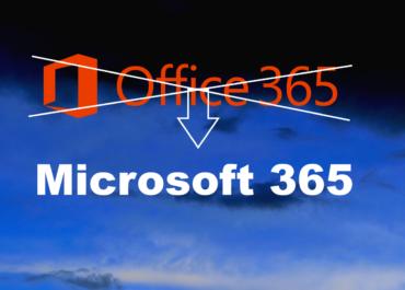Microsoft přejmenuje některé plány Office 365 na Microsoft 365